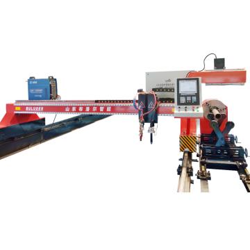 Máquina de corte portátil da tubulação do cnc