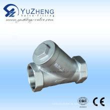 Filtro de aço inoxidável 304/316 Bsp