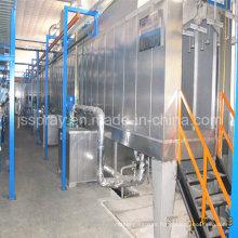 2015 máquinas de revestimento novas do pó / linha de pintura com pré-tratamento de pulverização