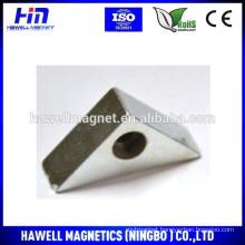 Triangular shape/triangle neodymium magnet N35,N38,N48, N52