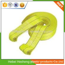 Cordón de PP de las cintas de suministro de la fábrica y honda plana