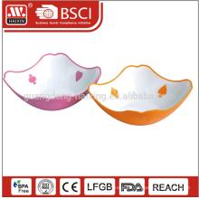 2015 neue Design einzigartige Kunststoff Salatschüssel mit SGS genehmigt