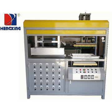 Semi Automatic Plastic Biscuit Container Making Machine