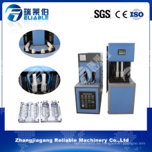 Máquina semiautomática del soplador de calor de la botella del animal doméstico