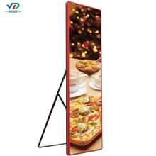 P2.5mirror led poster led display publicidad