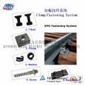 Système de fixation ferroviaire Kpo pour chemin de fer