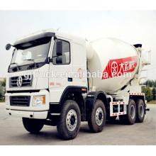 12CBM Dayun 8 * 4 unidad camión hormigonera / camión mezclador de cemento / mezclador de cemento / camión mezclador / tambor mezclador de polvo / camión mezclador de la bomba