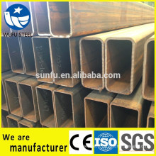 Best selling carbon RHS rectangular S235JR steel pipe specs