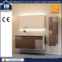 2016 Modern Melamine Finish Bathroom Vanity for North Europe