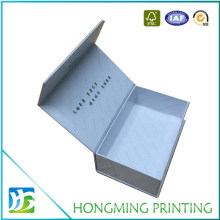 Wholesale Luxury Glossy Offset Printing White Magnetic Gift Boxes Custom