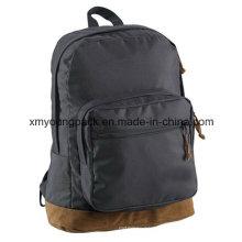 Promotional Black Lightweight Backpack School Bag