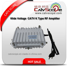 Amplificateur largeur de fréquence / amplificateur RF à large tension 110-270V CATV K