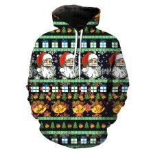 Festival Dress Chirstmas Fashion Men′ S Customized Hoodies Sweatshirts
