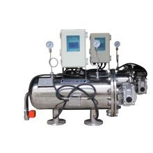 Filtración de agua industrial de drenaje automático con control de presión diferencial (YLXS)