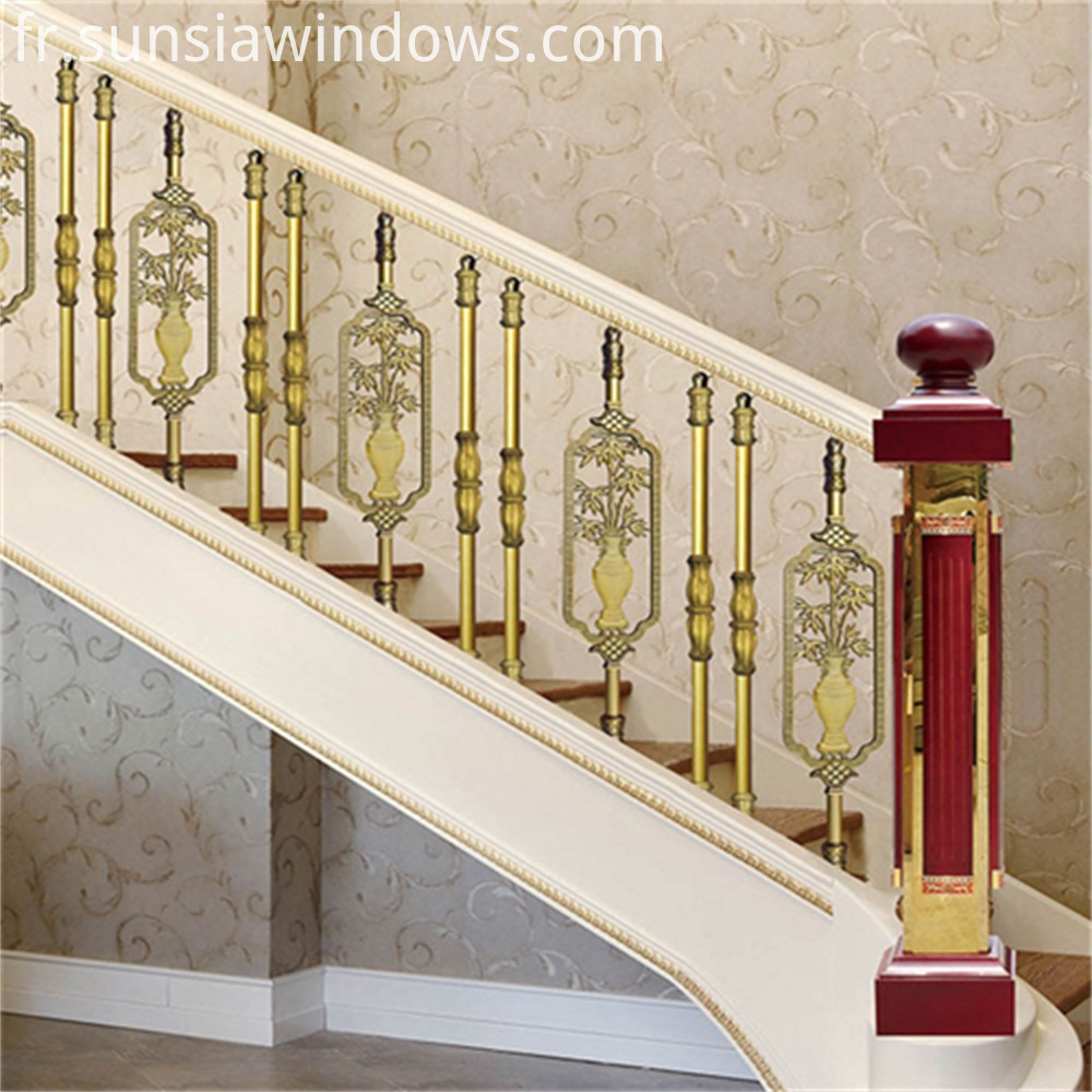 Aluminum Stair Balustrade