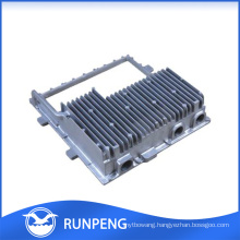 Sand blast aluminum die casting communication product