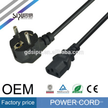 SIPU High Quality 2 Prong Style EU Notebook AC Power Cord made in China
