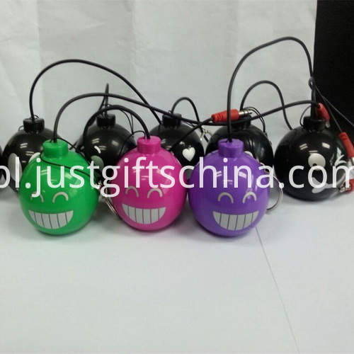 Promotional Mini Cartoon Bomb Shape Bluetooth Speaker_2