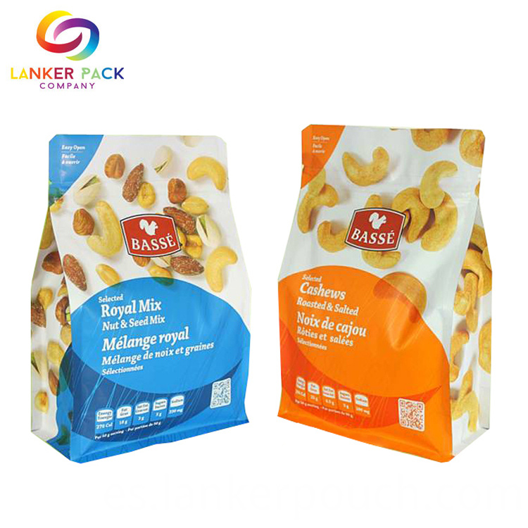 Food Grade Sealing Plastic Packing Bags For Snack