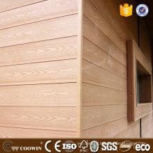Weather resistance prefab house anticracking WPC cladding WPC exterior siding panel