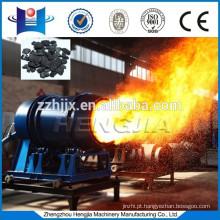 Controle do PLC e queimadores de carvão de ignição automática