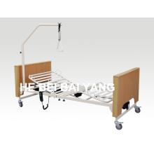 (A-24) Cama de hospital elétrica de três funções