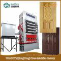 Hohe hydraulische Melamin-Tür-Haut-heiße Presse