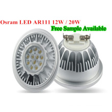 Lámpara de LED regulable L15W COB Lámpara de LED AR111 LED