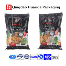 Italy Hollow Powder Food Packaging Bag with Zipper