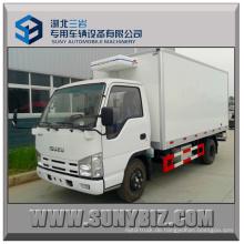 2tons Isuzu 100p 4X2 Mini gekühlter Van Truck