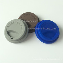 Durable Silicone Plastic Cups Lids for Drinking