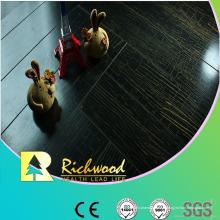 Revêtement de sol stratifié imperméable de noix de miroir du ménage 12.3mm E1