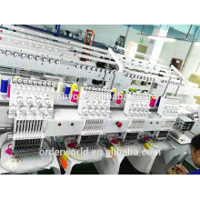 Automatic 4 Heads Computer Embroidery Machine Price For Garment/ Cap,hat/Flat