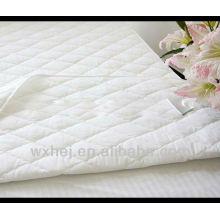 100% algodão de alta qualidade quilted hotel matress protector