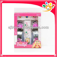 Beautiful princess shoes toy,plastic girls shoes toys
