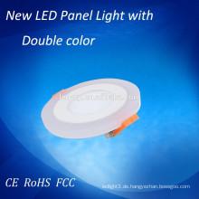 NEU !! Ultra dünne LED-Panel-Licht mit doppelter Farbe führte Deckenplatte