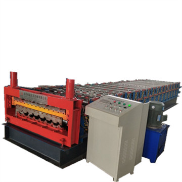 Helaian Double Deck IBR Roll Forming Machine