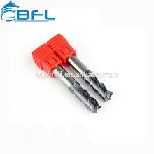 Broca de fresadora de largo alcance para fresadora de extremo plano de flauta BFL 2 para madera
