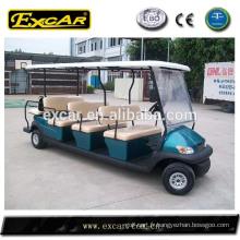 EXCAR pas cher 8 sièges électrique signtseeing bus mini tour voiture chine bus
