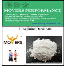 L-Arginine Decanoate d'acides aminés de qualité supérieure pour la nutrition sportive