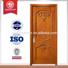 Custom Wooden Building Doors, Single Swing Fire-proof Door