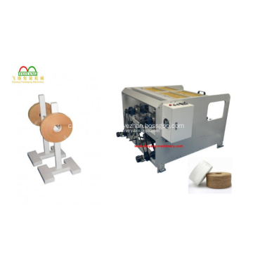 Paper Shopping Bag Making Machine With Handles Inline