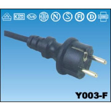 Europäischen Netzkabel AC Y003-F