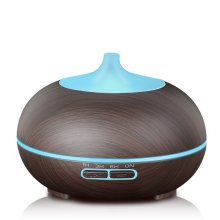 Wood Grain 300ml Ultrasone Diffuser met LED