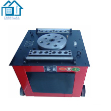 China manufacturer hydraulic electrical iron steel bar bending machine
