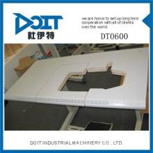 DT0600 Mesa da máquina de costura e suporte Over Edge
