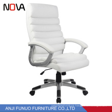 Office Furniture White Leather Office Chair