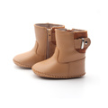 Warm Leather Winter Boot Handgjorda Babyskor