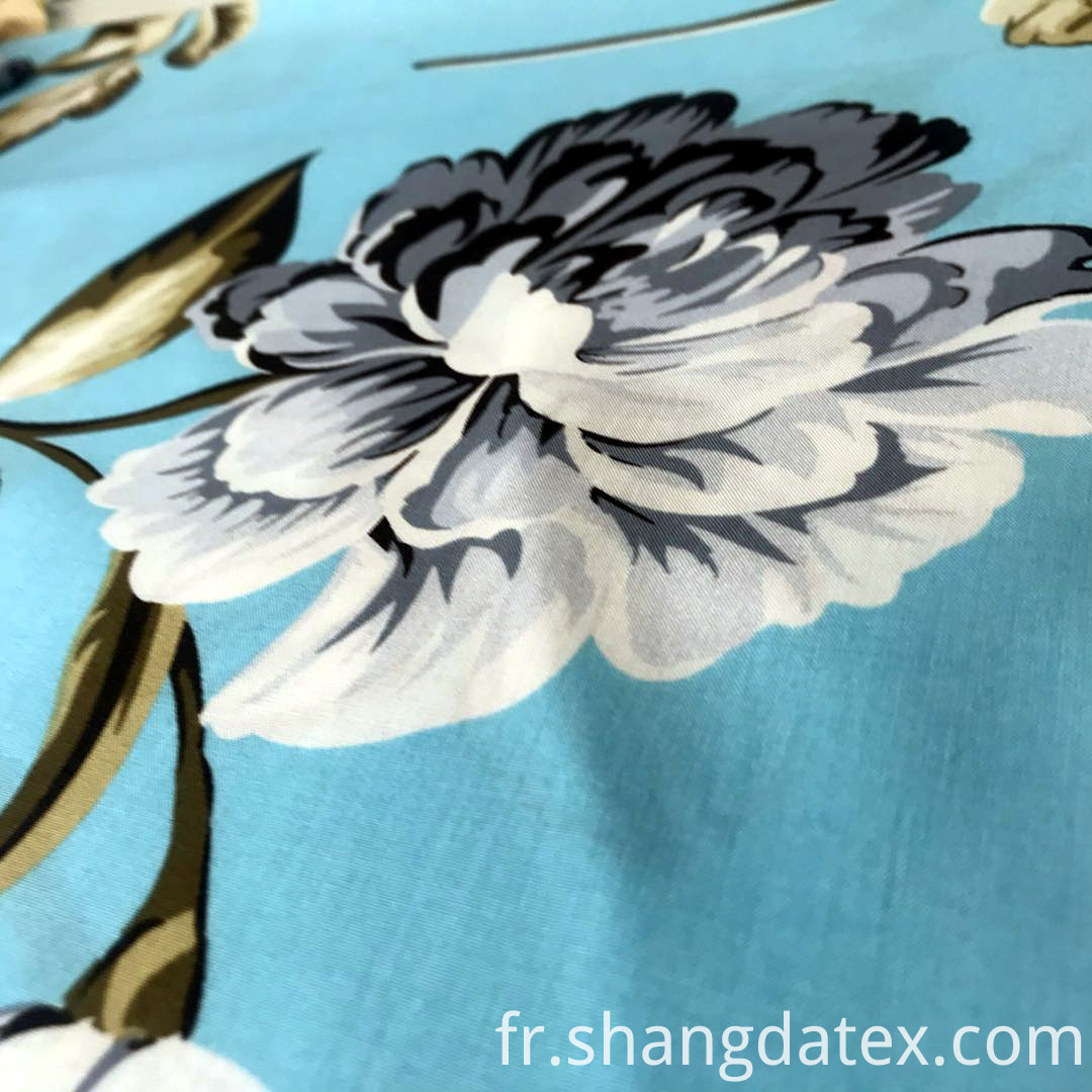 Chinese factory rayon screen print