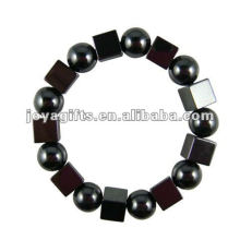 Mode Hämatit Platz Perlen Armband